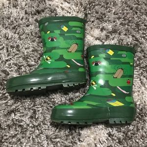 🚨 Kid Made Modern Rain Boots Size Small (Age 5/6)